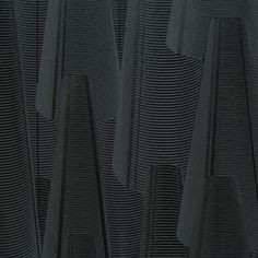 Charcoal large cone textured modern wallpaper adds a mesmerizing depth in your dining or living space. Graphic Wallpaper, Geometric Wallpaper, Black Wallpaper, Wallpaper Designs, Designer Wallpaper, Stone Wallpaper, Wall Wallpaper, Architectural Pattern, Special Wallpaper