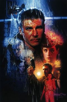 Blade Runner, one of the nicer art works I have seen for the movie.