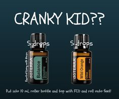Mixing these oils is sure to assist your emotional child calm themselves. #doterra has an amazing blend in #balance that is so grounding. #orange is uplifting and smells O so nice! Give this a try! www.mydoterra.com/mariamellmann