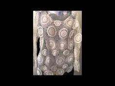 crochê irlandês - versão destras - parte 1 - (videos antigos) - YouTube