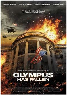 Olympus Has Fallen....Gerard Butler Action hero extraordinaire (Leonidus..300) does a die hard secret service agent here save d president.
