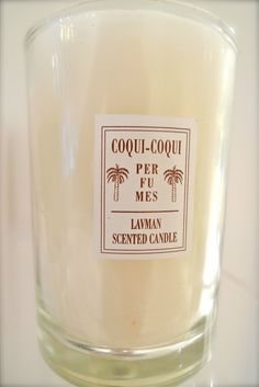 this...Coqui Coqui Candles