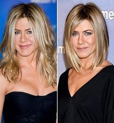 Avant-Apres : Jennifer Aniston Photo  Celebs Who Chopped Off Their Hair  Us Weekly