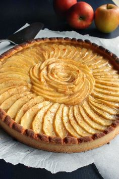 The Apple pie - cakedesserts. Apple Pie Recipes, Easy Cake Recipes, Cheesecake Recipes, Dessert Recipes, Trifle Desserts, Apple Desserts, French Sweets, Homemade Apple Pie Filling, Easy Vanilla Cake Recipe
