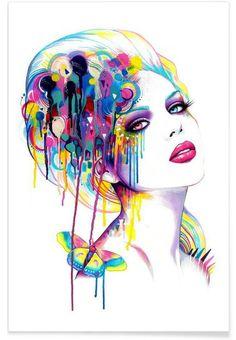 Color Portrait by Pixie Cold.