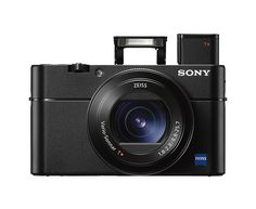 Sony Cyber-shot V MP Digital Still Camera w/ OLED. Sony has just announced its latest Cyber-shot RX camera, and this ones a doozy Leica, Cameras Nikon, Sony Camera, Vlog Camera, Camera Case, Pixel 1, Full Hd 4k, Best Cameras For Travel, Travel