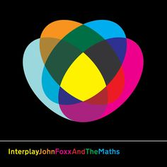 CD cover for John Foxx and The Maths' Interplay by Jonathan Barnbrook (2011)