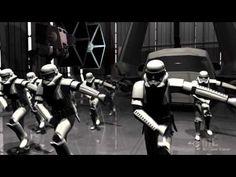 Stormtrooper Shuffle - Star Wars Parody (Everyday I'm Shuffling) Video