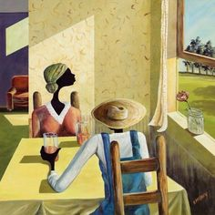 """""""A New Day"""" African American Art, Heritage Art Gallery"""