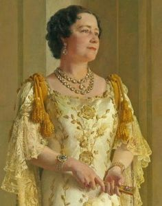 Queen Elizabeth (The Queen Mother; Elizabeth Bowes-Lyon) by Gerald Kelly