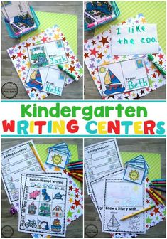 Looking for fun Kindergarten Writing Worksheets and Centers? This Kindergarten Writing Unit 3 helps children discover, continue and create story patterns. Kindergarten Writing Activities, Kindergarten Language Arts, Kindergarten Lesson Plans, Kindergarten Centers, Writing Worksheets, Work Activities, Writing Rubrics, Paragraph Writing, Opinion Writing