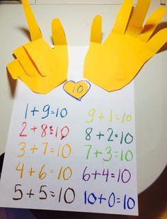 Making 10, Logos, Math, How To Make, Logo, Math Resources, Mathematics