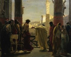 Antonio Ciseri - Bozzetto per l'Ecce Homo - Historical Jesus - Wikipedia, the free encyclopedia