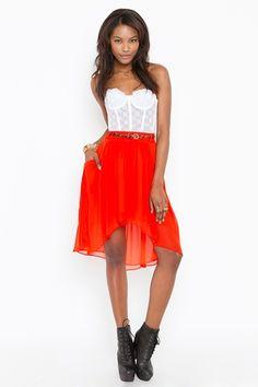 Chiara Chiffon Skirt