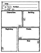 cute, simple story map