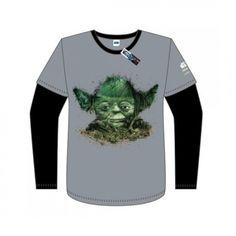 Yoda Child's Long-Sleeve shirt, English