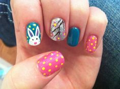 Easter Gel Nails
