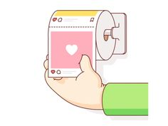 like and wipe animation poop toilet paper animation loop geometry humor vecto. like and wipe animation poop toilet paper animation loop geometry humor vector logo illustration Burnt Toast, Japon Illustration, Illustration Fashion, Creative Illustration, Aesthetic Gif, Cute Gif, Motion Design, Graphic, Animated Gif