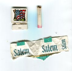 Martha Mitchell's cigarette - she had a BIG mouth