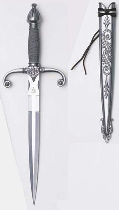 Beautiful dagger. Could be extended to be a sword. Royal sword