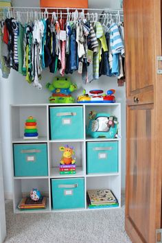 Storage for closet