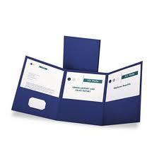 Esselte Pendaflex 59802 Tri-Fold Folder With 3 Pockets Holds 150 Letter-Size Sheets Blue - Office Die Cut Business Cards, Document Folder, Custom Folders, Presentation Folder, Pocket Letters, Sheet Sizes, Folded Up, Letter Size, Printing Services