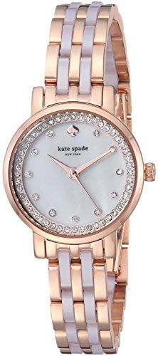 kate spade new york Womens KSW1265 Monterey Analog Display Japanese Quartz Rose Gold Watch ** Find out more about the great product at the image link.