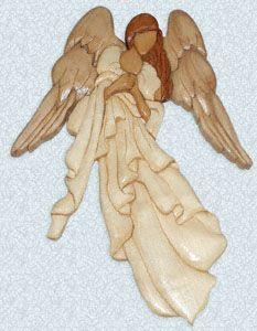 Charlie's Angel Intarsia Pattern