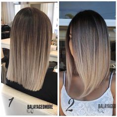 63 stunning examples of brown ombre hair - Hairstyles Trends Brown Hair Balayage, Brown Blonde Hair, Hair Color Balayage, Blonde Honey, Honey Balayage, Medium Blonde, Honey Hair, Hair Highlights, Medium Hair Styles