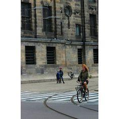 #redhair #lovebikes #netherlands #amsterdam #streetphotography