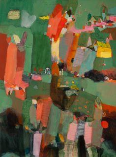 "Saatchi Art Artist Tahnee Lonsdale; Painting, ""The Pool - SOLD"" #art"