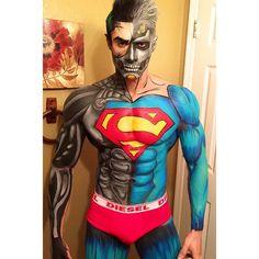 Resultado de imagen de body painting artistico men