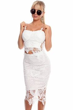 42769e9892b This dress comes with 2 pieces including a spaghetti strap top with zipper  back closure and