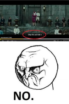 One does not simply skip the hunger games trailer