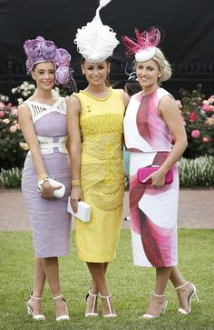 Spring Racing Carnival inspiration...Street style #MelbourneCup2014