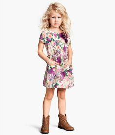 H m long dresses kids