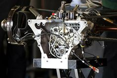 F1 gearbox detail (2010)