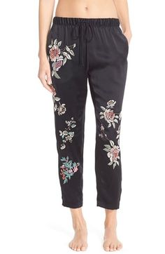 3f1bfa036da3a Josie Natori Embroidered Silk Pants available at  Nordstrom Chinese Silk  Dress