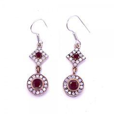 Authentic Women's Silver Earrings Ruby Gems www.hanedansilver.com #Roxelana #East #Market #Hurrem #Jewellers #Silver #Earring #Jewelers #Ottoman #GrandBazaar #Earring #Silver #Pendant #Silver #Bracelet #Anadolu #Schmuck #Silver #Bead #Bracelet #East #Authentic #Jewelry #Necklace #Jewellery #Silver #Ring #Silver #Necklace #Pendant #Antique #istanbul #Turkiye #Reliable #Outlet #Wholesale #Jewelry #Factory #Manufacturer # Ring #Trade #Gift #Gold #Free #Shipping #Fashion