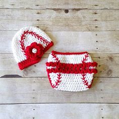 Crochet Baby Baseball Hat Visor Beanie Newsboy Cap Girl Flower Ruffled Diaper Cover Ruffles Sports Set Newborn Infant Photography Photo Prop