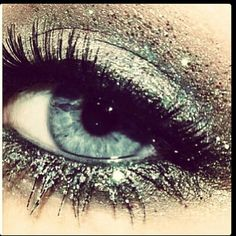 Sparkle eye shadows/make-up...!! ~ LOVE