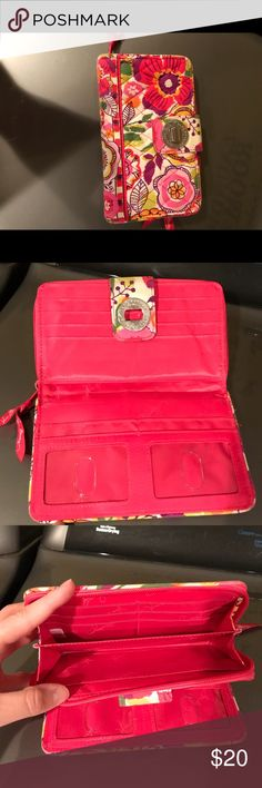 Vera Bradley wallet Floral Vera Bradley wallet Vera Bradley Bags Wallets