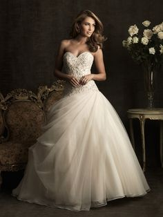 Allure ball gown wedding dress (style 8901)