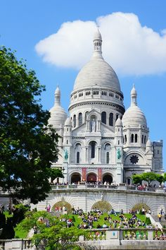 Basilica of the Sacré Cœur; Paris