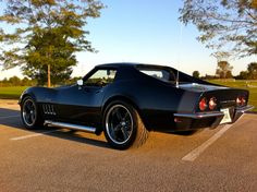 C3 Corvette wire wheel   Blue Thunder, one bad azz 69 Corvette - Corvette Forum