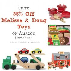 up to 35% Off Melissa & Doug Toys (through 12/7)
