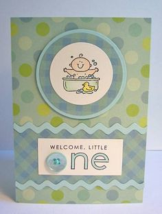Tubby Little One by stampintoo - Cards and Paper Crafts at Splitcoaststampers