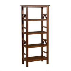 One of my favorite discoveries at ChristmasTreeShops.com: 4-Shelf Antique Titan Bookcase