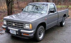 Chevy S10 S10 Pickup, Classic Pickup Trucks, Old Pickup Trucks, S10 Truck, Jeep Truck, Chevrolet S 10, Chevrolet Trucks, General Motors, Cheap Race Cars