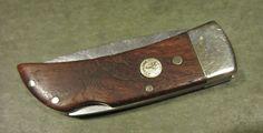 Boker Tree Brand Solingen Germany Wood Lock Back Blade Gent Old Vtg Pocket Knife #Boker